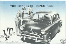 Standard Family Eight Super Eight Ten Super Ten Companion Vanguard III Brochure