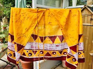 Laksala Handmade Batik Wrap Skirt/Sarong One Size