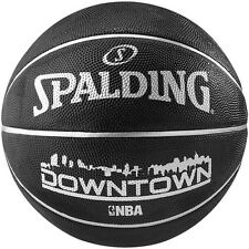 Spalding NBA Downtown Black Official Size 7 Basketball