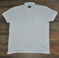 Peter Werth London Mens White Polo Shirt 2XL / XXL