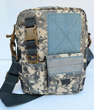Tactical MOLLE Shoulder Bag IFAK Field Medic Pouch Gun Camouflage DIGITAL ACU 3