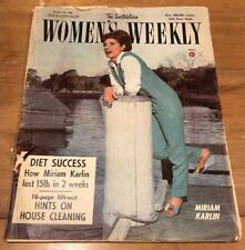 AUSTRALIAN WOMEN'S WEEKLY magazine October 1964 Vintage 1960's Collectable
