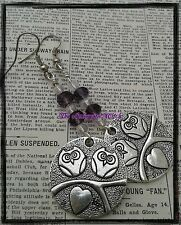 Owl earrings handmade earrings gift, handcrafted jewellery