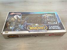 Gaming keyboard usb world warcraft steel series edition limitée ZBD110