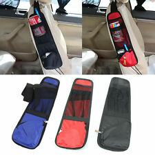 AutoCar Multi Side Pocket Seat Storage Collector Hanging Bag Pouch Organiser Red