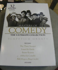 MASTER OF COMEDY-THE ULTIMATE COLL.(DVD 6-Disc Set)STOOGES,KEATON,ABBOT/COSTELLO