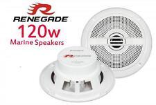 """Renegade rxm-52 5,25 """" 13 cm 2 voie cuisine salle bain baignoire chaude haut-parleurs 1 paire 120 w"""