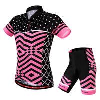 Vélo de route Vélo Femmes Cyclisme Manches Courtes Maillots Haut T-shirt