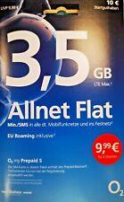 """""""Schnäppchen"""" Internet Flat+Allnet+SMS+ O2 Prepaid""""kein Vertrag""""BLITZ VERSAND"""""""
