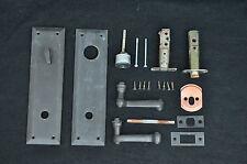Ashley norton door hardware lever, outdoor knob, set, solid brass, keyed