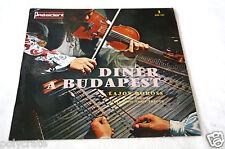 Disque Vinyle 33 tours LP Album Dîner à Budapest Lajos Boross tziganes