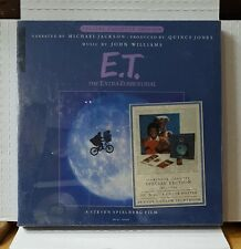 E.T. The Extra Terrestrial Cassette Box Set Narrated by Michael Jackson UNOPENED