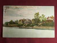 Perth Amboy New Jersey Vintage 1910's Postcard View of the Bluff