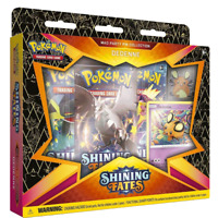 Pokemon Shining Fates Mad Party Pin Collection Dedenne