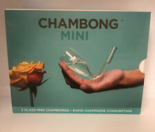 Chambong Mini (3 oz.) - Hand-blown Champagne Shooters - New Open Box