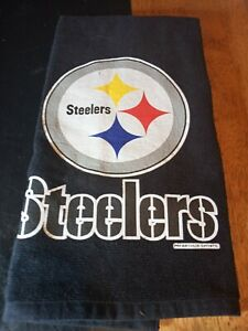 Pittsburgh Steelers NFL hand towel with ring
