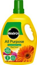 Miracle Gro All Purpose Liquid Plant Food Bottle 1l Concentrated Fertiliser
