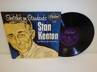 """STAN KENTON Sketches On Standards 10""""/33 rpm UK Pressing EX! Capitol LC-6602"""