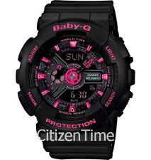 -NEW- Casio Baby-G Black / Pink Watch BA111-1A