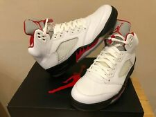 NEW Nike Air Jordan V Retro Fire Red - Size 8.5uk - 43eu