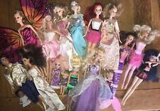 Lot 18 Poupées Mannequins Vrac Surtout Barbie