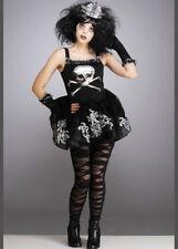 Kids and Teen Size Gothic Zombie Ballerina Halloween Costume