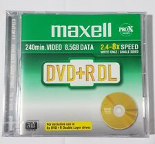 MAXELL Double Layer(8x) DVD+R Dual Layer 8.5GB