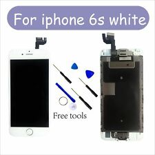 """White and iPhone 6S LCD Screen Digitizer Display Home Button+Camera 4.7""""CA"""