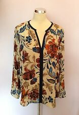 Zara Long Sleeve Floral Tops & Shirts for Women