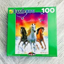 Cra-z-art 100 Piece Three Horse Puzzle
