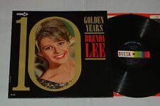 BRENDA LEE GOLDEN YEARS LP 1st US Decca DL4757 Mono EX+