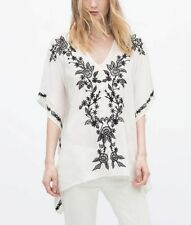 Embroidered Viscose Tops & Shirts for Women