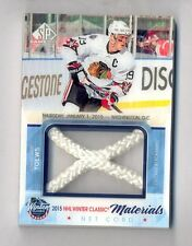 JONATHAN TOEWS 2015-16 UD SP Game Used Winter Classic Materials Net Cord #35/35