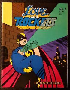 Love & Rockets #3 (Fantagraphics Books ) 1991 2nd Print F/VF