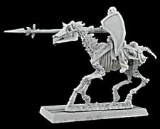1 x DEATH RIDER  -WARLORD REAPER miniature figurine rpg jdr cavalier horse 14149