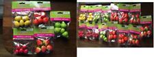 Lot 15 New Miniature Craft Fruit Oranges Pears Lemons Strawberries Cherries Home