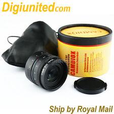 Camdiox APS-C sensor 50mm f/1.8 C mount CCTV Lens for Olympus M4/3 Sony NEX Fuji