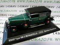 RE6E Voiture 1/43 M6 Universal Hobbies / norev  REINASTELLA type RM 2 1932