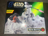 Star Wars The Power of The Force HOTH BATTLE Playset Kenner POTF Brand New