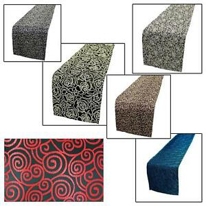 Table/Bed Runner*Chinese Rayon Brocade Dinning Coffee Cloth Header Cover*BL16