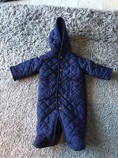 ralph lauren baby snowsuit