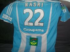maillot foot de l'om marseille flocage nasri officie ! jersey camiseta collector