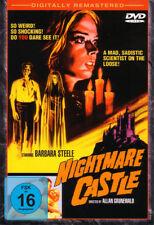 DVD Halloween Classics Nightmare (Cauchemar) Château avec Barbara Steele