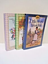 Little House Books by Laura Ingalls Wilder, Set of Three