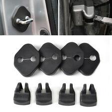 4*Car Door Striker+Door Check Arm Rustproof Cover For Toyota Camry Corolla 2007+