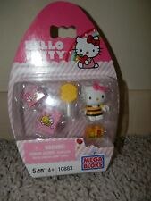 hello kitty MEGA BLOKS Hello Kitty BEE set #10883 5 pieces NIP