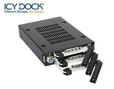 "New ICY Dock MB993SK-B ToughArmor 3 bay 2.5"" SATA HDD Hard Drive Mobile Rack"