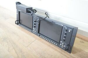 """Marshall Orchid OR-702 Dual 7"""" LCD HD/SD Monitor in excellent condition"""