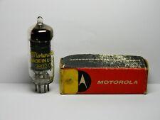 Vintage Brand New Motorola Black Plate 6Bd6 Vacuum Tube Hickok Certified Good