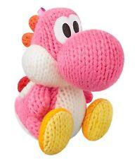 NEW Nintendo 3DS Wii U Amiibo Amigurumi YOSHI Pink Wool World Japan Import F/S